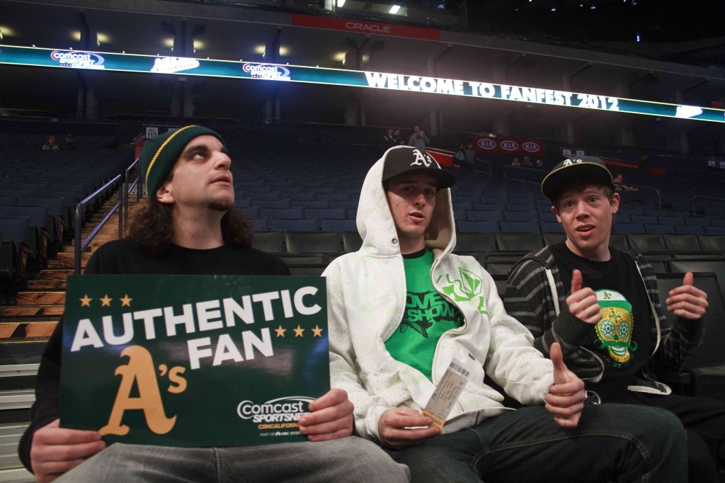Fat's, Ostrom & McNaughton @ A's FanFest 2012